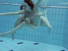 Two hot hairy beauties underwater movies at find-best-pussy.com
