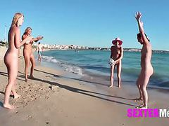 Mallorca strandfotzen teenies :-) in arenal movies
