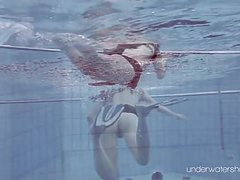 Roxalana chech in scuba diving in the pool movies at dailyadult.info