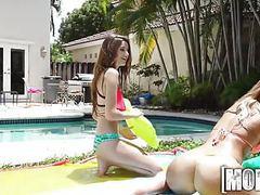 Mofos.com - alex kelsi - real slut party movies at kilogirls.com