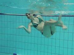 Shaved tight hottie markova in the czech pool movies at kilomatures.com