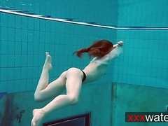 Pierced teen swimming videos