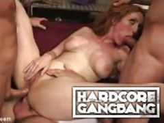 Redhead whore lauren phillips, gangbang double-anal dominate movies