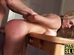 Amazing handcuffed blonde slut victoria fucked from behind tubes
