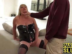 Blonde housewife gets drilled roughly movies at freekiloclips.com