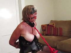 Wife struggles in her bondage movies at freekilomovies.com