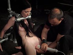 Bondage teen in hard bdsm punishment for naughty behavior videos