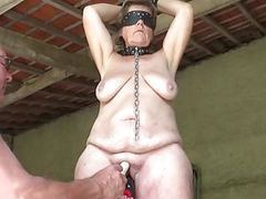 Mature slave masturbated movies at relaxxx.net