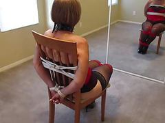 Wife tied to a chair movies