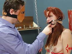 Redhead smacked as she dances in chains, fucked in all holes movies at find-best-tits.com