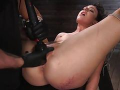Squirt whore lilith luxe coerced to cum from pain movies
