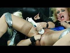 Lesbo, fisting, toys, bondage videos