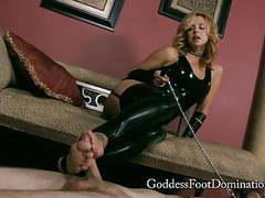 Brianna footslave fj cum eating videos