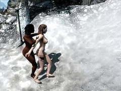 Perils of escaped skyrim slavegirl 03 movies at freekilomovies.com