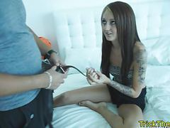 Real petite euro tricked and pussyfucked movies at freekiloporn.com