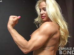 Muscular jill breaks out of her ropes videos