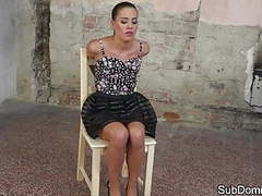Submissive euro gets tiedup and dominated movies