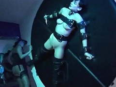 Sweet submission - goth fetish whip music video movies at freekilomovies.com