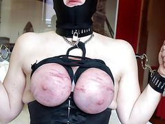 Session december 2016: hot wax on breasts tied videos