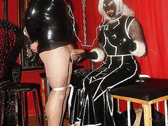 In hands of the latex fashion tv mistress videos