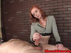Mean ginger masseuse cum controlling customer movies