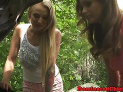 Petite euro assfucked and dominated outdoors movies at freekilomovies.com