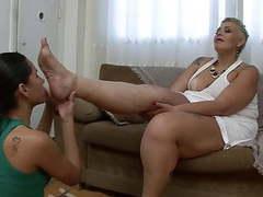 Bbw feet videos