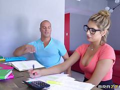 Brazzers - sexy nerd august ames needs a study break movies at find-best-pussy.com