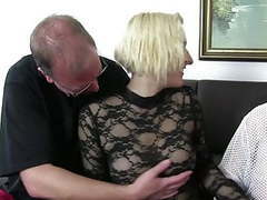 Xxxomas - fat german slut gets fucked hard in foursome movies at find-best-videos.com