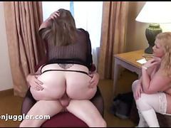 Hubby fucks his wifes friend & she watches movies at kilogirls.com