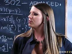 Brazzers - alexis brooklyn - big tits at school videos