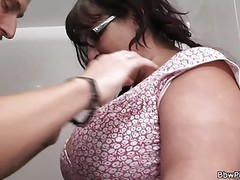 Hot fatty picked up and fucked in the restroom movies at find-best-pussy.com