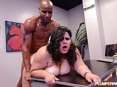 Big booty latina bbw karla lane loves big black cock videos