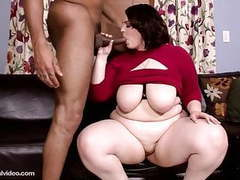 Newbie big booty bbw melody monroe tastes her first bbc movies