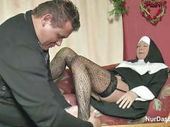 German milf nun get fucked by the pastor in church movies
