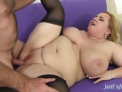 Huge boobs and fat ass girl gets fucked tubes
