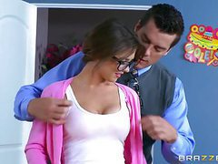 Brazzers - alice lighthouse - big tits at school cum movies