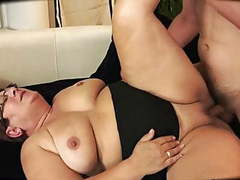 Chubby granny is creampied movies at kilogirls.com