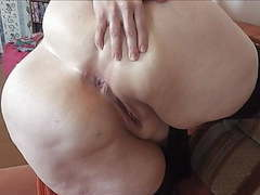 Bbw show cunt and her tiny asshole movies at kilogirls.com