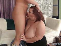 Fat ass lady lynn eats cum videos