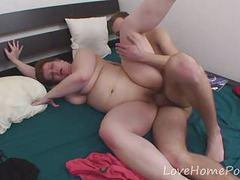 Young stud gets to fuck his stepmom movies at freekilosex.com
