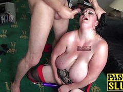 Brunette british slut curvy gal gets rough sex from pascal movies at kilomatures.com