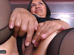 Agedlove horny mature latina chick hardcore sex movies