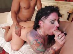 Hot plumper milf gets bbc double penetration movies