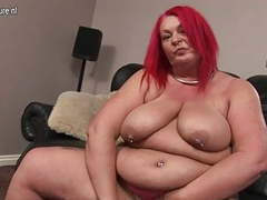 Mature bbw and her fat pussy videos