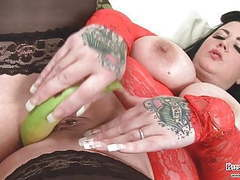 Big tits tattiana loves bananas tubes