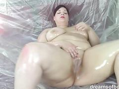 German bbw jill oiled up videos