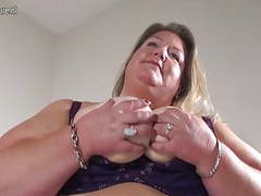 Naughty big booty dutch bbw mom and her toy videos
