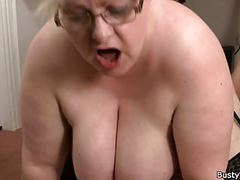 Big tits woman in glasses rides his dick movies at kilopills.com