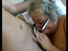 Bbw granny with big tits in hard anal videos